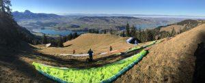 brevet parapente suisse lac