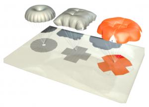 pliage parachute de secours sqr