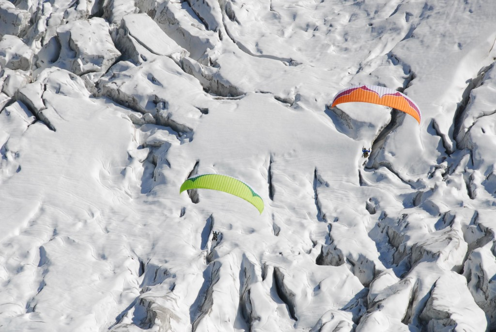 Initiation parapente en montagne