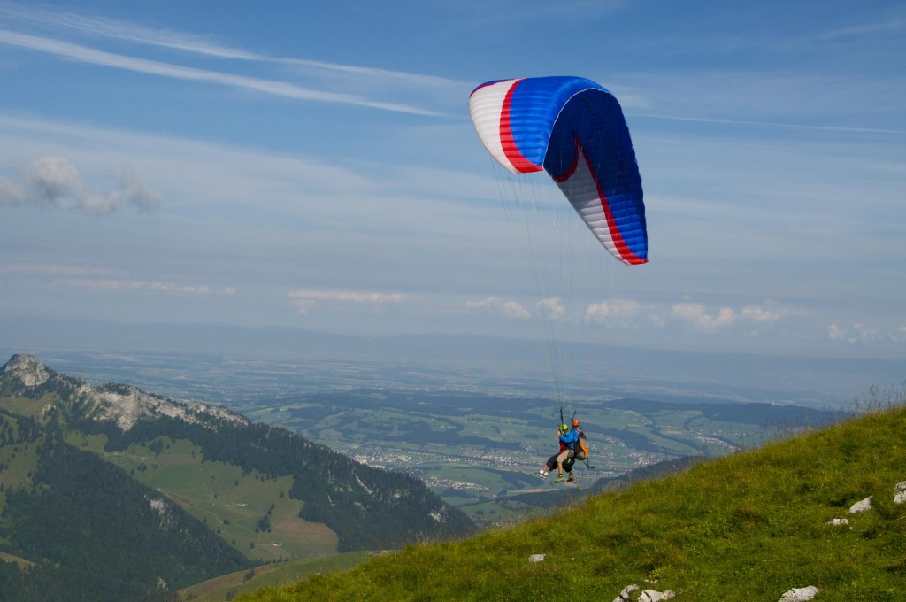 Initiation parapente Gruyère