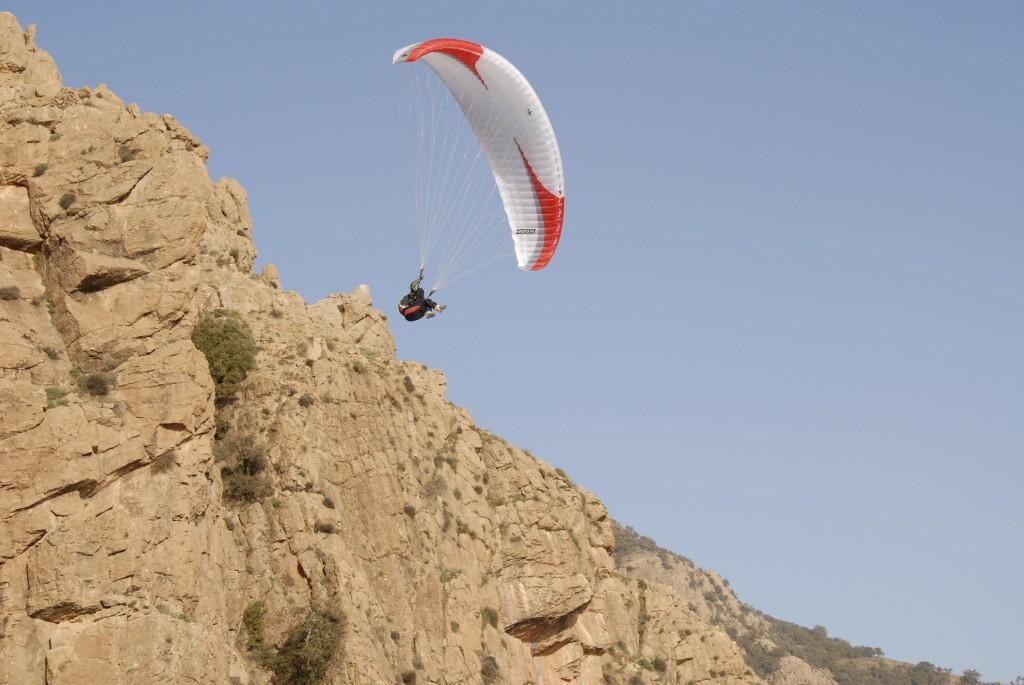 Vol biplace parapente avec un pilote pro
